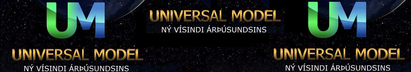 Universal Model - Alhliða líkan - Hausmynd